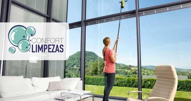 Limpeza de janelas Vidros e pavimentos