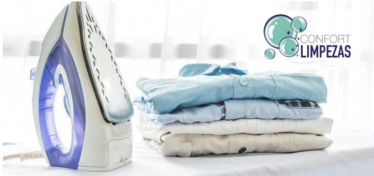 Lavar secar e engomar roupa